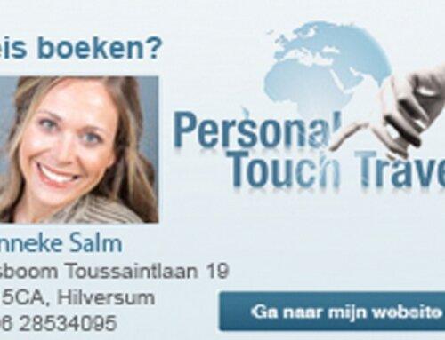 Book By BAR breidt haar samenwerkingen uit naar Personal Touch Travel