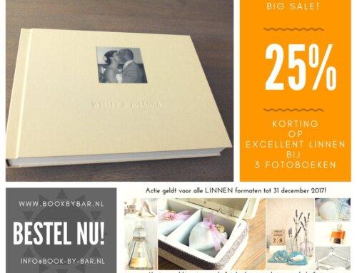 Super sale: ook 25% korting op excellent LINNEN