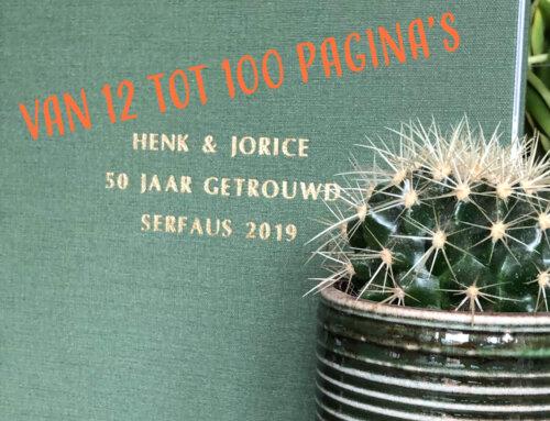 TOP Fotoboek nu ook met 100 pagina's