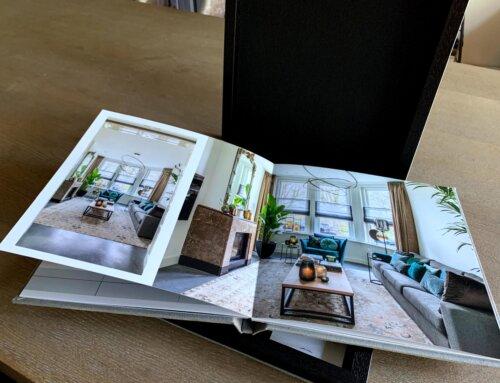 Jouw product in een luxe fotoboek gepresenteerd